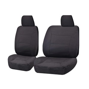 All Terrain Car Seat Covers for Toyota Hilux Single/Dual Cab Utility 2005-2015 | Charcoal