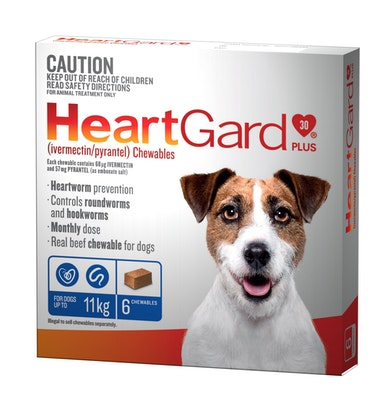 Heartgard Plus Blue Up To 11kg 6 Pack