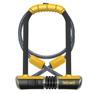 OnGuard DT 8012C Bulldog Combo with Key U-Lock and Looped Cable Bike Lock