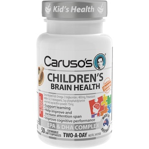 Caruso's Natural Health Caruso's Children's Brain Health
