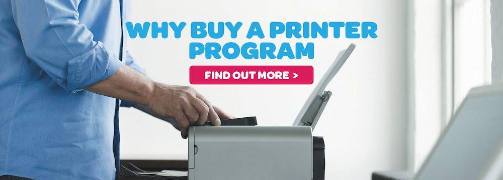 Cartridge World Why Buy A Printer Program