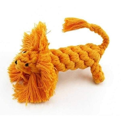 Doggy Topia Lion Rope Dog Toy