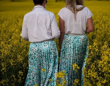 Pleated Skirt   Afrique