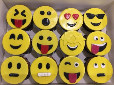 Emoji Cupcakes - A.C.T. CUSTOMERS ONLY