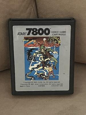 Atari 7800 Crossbow Cart