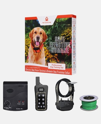 Pet Control HQ Combo Electric Dog Fence & Remote Training Collar