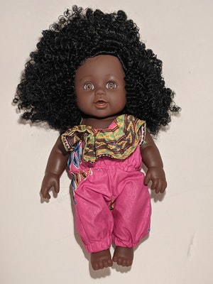 Designed by Florence Kadie Eno Doll
