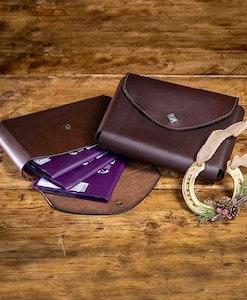 Lemieux Leather Passport Holder