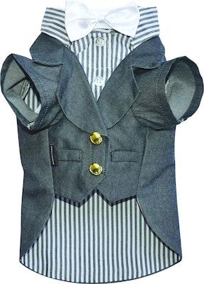 DoggyDolly THICK DOG - Grey Doggy Suit Jacket