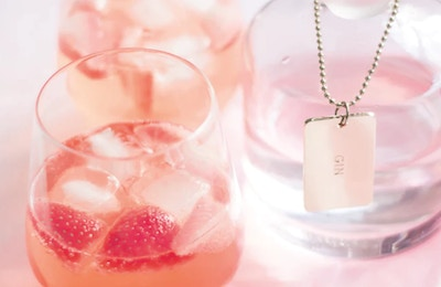 NECTAR AND STONE STRAWBERRY INFUSED GIN AND TONIC RECIPE