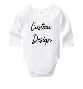 Customised Baby Onesie
