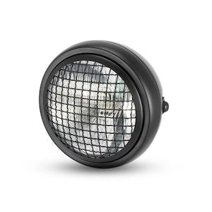 "6.5"" Metal Mesh Headlight - Black"
