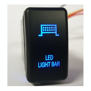 Ford Ranger / Mazda BT50 LED Light Bar Switch Blue Back Light