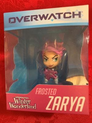 Overwatch Cute but Deadly Frosted Zarya Blizzard Winter Wonderland Figurine - New in Box