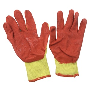 WORK GLOVES General Purpose Glove Safety Rubber Grip Non Slip Coated New
