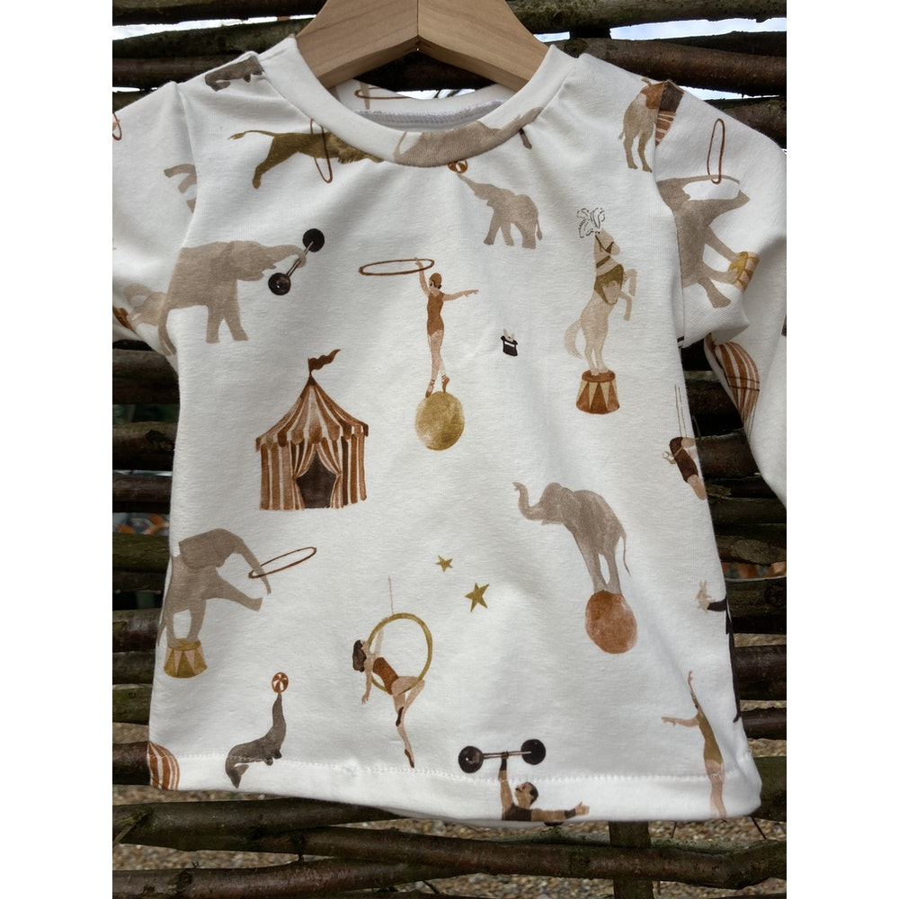 The Baby Man Store Circus Print Top