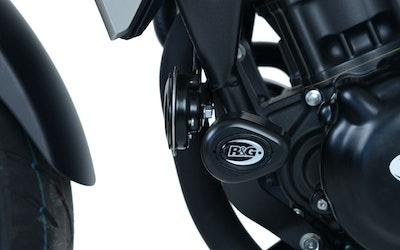 R&G Racing Aero Style Crash Protectors To Suit Honda CB300R 2018 - 2020 (Black)