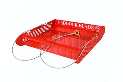 Paddock Blade Horse Paddock Cleaner - Red