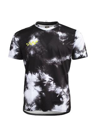 Pedla Tie Dye / eco Tshirt - Black Fade