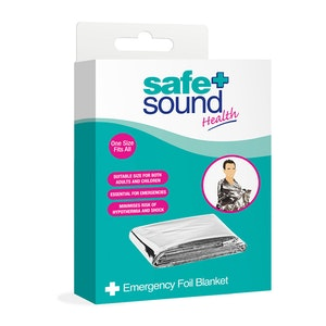 Safe + Sound Health Emergency Foil Blanket Wrap One Size
