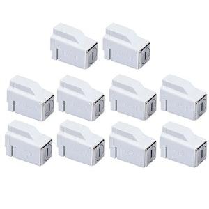Remsafe 10 Pack Venlock Aluminium Sliding Window Restrictor Lock Keyed Alike in White