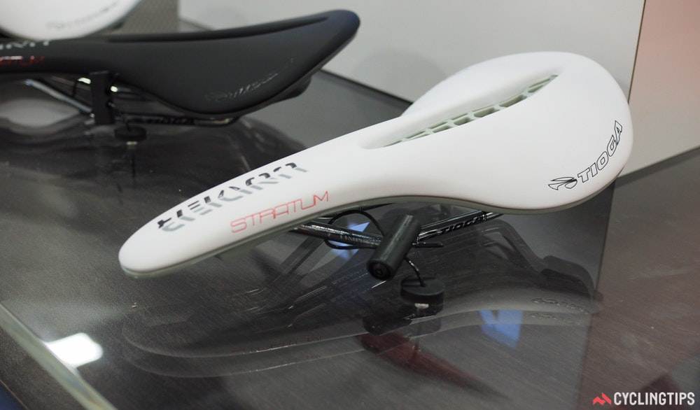 Tioga Spyder Undercover Stratum saddle interbike 2016 cyclingtips
