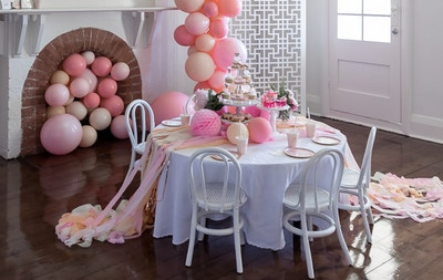 PRETTY IN PINK: A 5TH BIRTHDAY BALLET PARTY