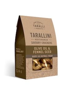 Tarallini - Olive Oil & Fennel 125g