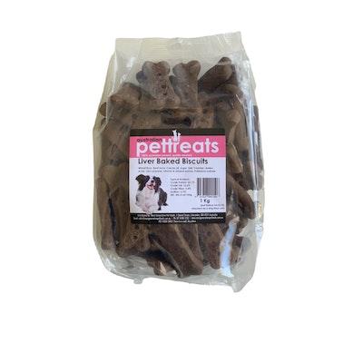 Australian Pet Treats APT Liver Baked Biscuit Dog Treats 1kg