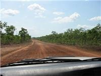 Loose surface in 4x4 country near Walker Creek, NT