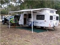 GoSee Jayco Discovery overnights at Tathra, NSW