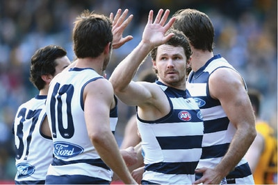 In the Water with Patrick Dangerfield