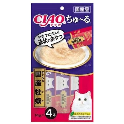 CIAO   Tuna & Oyster Recipe (4pcs/Pk)
