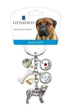 Little Gifts Keyrings - Bull Mastiff