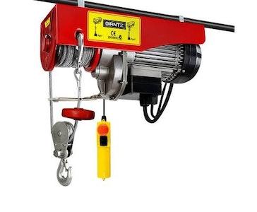 Giantz 500/1000kg 1600W Electric Hoist Winch