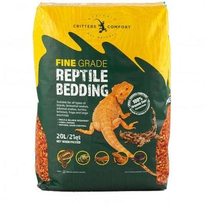 CRITTERS COMFORT Reptile Bedding Fine 20L