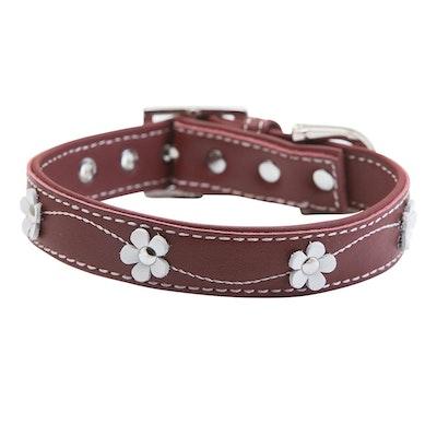 Hamish McBeth Lucy Red Dog Collar