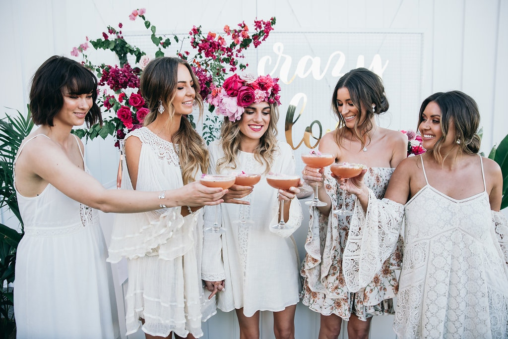 POP IT LIKE IT'S PINK: A LAVISH BRIDAL SHOWER
