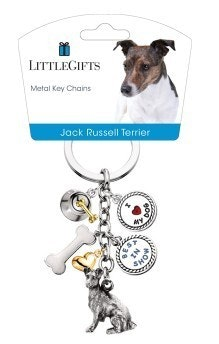 Little Gifts Keyrings - Jack Russell Terrier