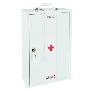 Mediq Empty First-Aid Metal Cabinet - Wall Mount