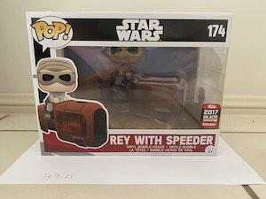 Rey With Speeder Bike - Star Wars