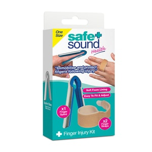 Safe + Sound Health Finger Injury Kit Fracture Sprain First Aid One Size