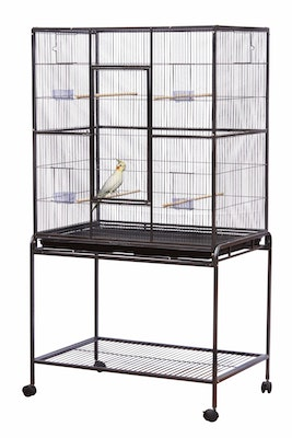 Bono Fido Deluxe Flight Cage with Stand 45433 30''