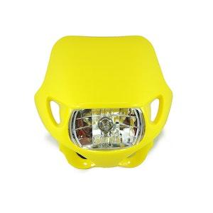 Halogen Motocross Headlight - Yellow