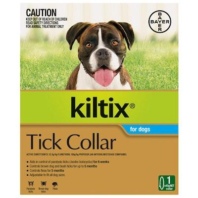 Bayer Kiltix 5 Months Tick & Flea Collar Control Aid Treatment for Dogs