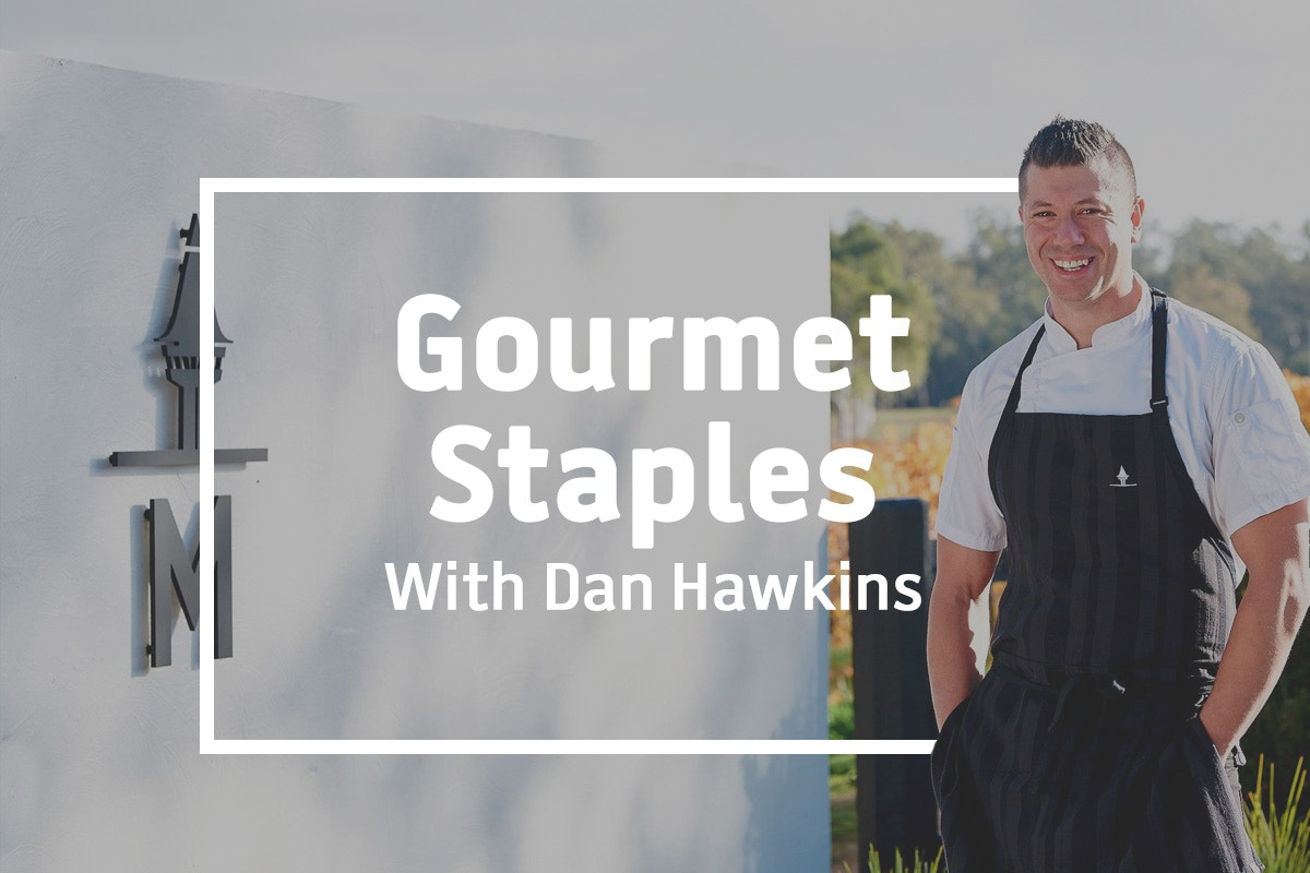 Cooking at home with Dan Hawkins