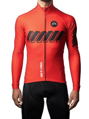 Band of Climbers ThermoAscent Long Sleeve Jersey - Red