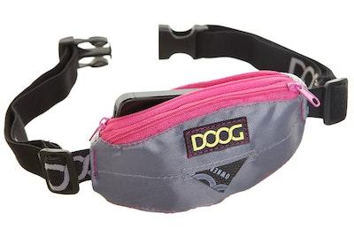 Doog Mini Belt- Grey & Neon Pink