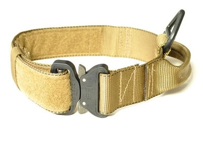 Redline K9 MaxTac Military Dog Collar Desert Tan