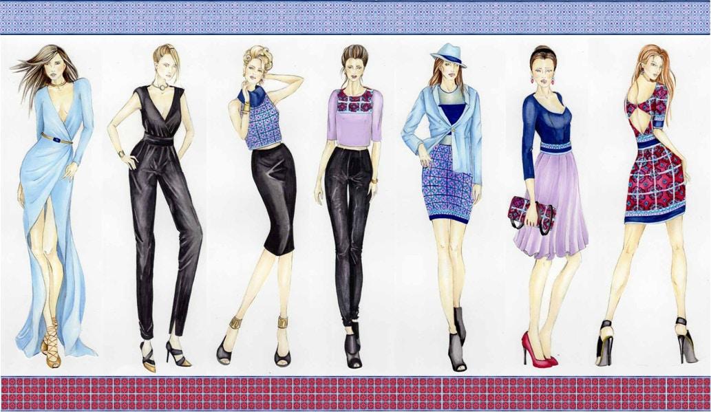 Making a Fashion Portfolio